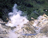 St. Lucia. (West Indies) sulphur springs.