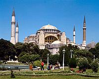 Turkey. Istanbul. Sancta sophie mosque.