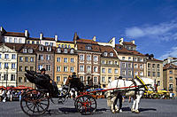 Poland. Warsaw. Old town Square.