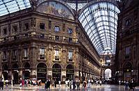Italy. Milan. Galleria.