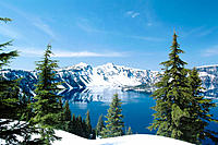 Crater Lake. Oregon. USA