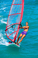 Windsurfing. Maui. Hawaii. USA