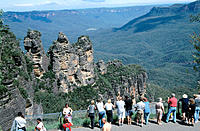 The Three Sisters. Blue Mountains National Park. Australia