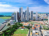 Central Business District. Singapore
