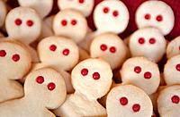 People-shaped cookies