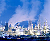 Petrochemical plant, Scotland