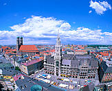 Marienplatz square. Munich. Germany