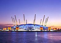 Millenium Dome. London. England