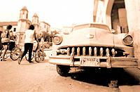 Old American cars. Havana. Cuba
