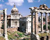 The Forum. Rome. Italy