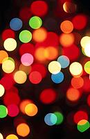 Christmas abstract lights
