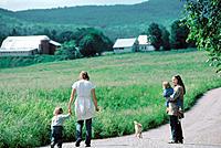 Rural stroll. Vermont. USA