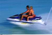 Maledives, Couple, Jetski, Sea