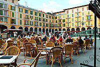 Main Square. Palma de Mallorca. Majorca. Balearic Islands. Spain