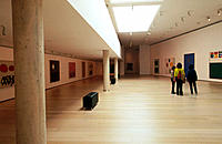 Exhibition hall. IVAM (´Valencian Institution of Modern Art´). Valencia. Spain