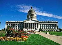 State Capitol. Salt Lake City. Utah. USA