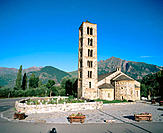 Church of Sant Climent. Taüll. Lleida province. Catalonia. Spain