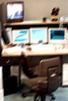 Büro Computer Monitor Fernseher