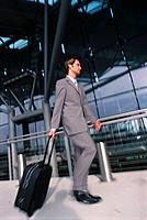 Geschäftsmann Koffer