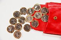 Geldbörse Portemonnaie Euro Münze Euromünze Europa