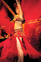 Belly dance at night club. Cairo. Egypt