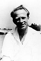 Werner Heisenberg. Portrait of the German physicist Werner Karl Heisenberg (1901-1976). He won the 1932 Nobel Prize for Physics for his work on his ma...