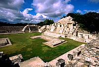 Maya ruins of Edzna. Mexico