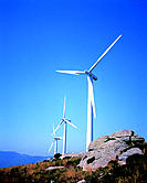 Wind turbine, Andalucia, Spain