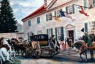 Washington Leaving Mount Vernon American History