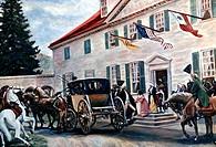 Washington Leaving Mount Vernon American History