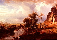 Platte River 1863 Albert Bierstadt 1830-1902 American Amherst Library, New York