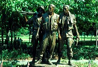 Three Servicemen Statue Vietnam Veterans Memorial Washington, D C  USA