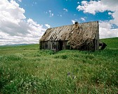 Old homestead. Idaho. USA