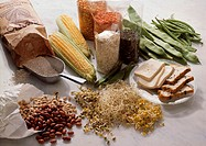 Assorted Legumes and Legume Products, Wheat Flour