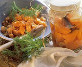 Spicy pumpkin casserole & sweet & sour pickled pumpkin (4)