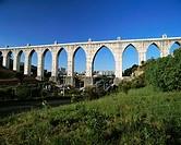 Aguas Livres aqueduct (1748). Lisbon. Portugal