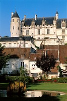 Chateau de Loches. Touraine. France