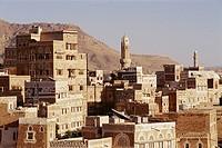 Old town. Sanaa. Yemen