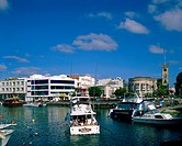Barbados, Bay, Boats, Bridgetown, Capital, Caribbean, City, Dock, Docking, Harbor, Holiday, Landmark, People, Port, Tourism, Tou