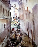 Narrow Canal: Venice C  1930 Martha Walter 1875-1976 American David David Gallery, Philadelphia