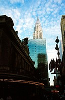 Grand Central Terminal mit Chrysler Building - Midtown Manhattan - New York City - New York - USA | Grand Central Terminal with Chrysler Building - Mi...