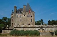 Château de Bois Cornille. Val d´Izé. Île-et-Vilaine. France