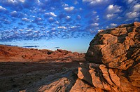 Valley of Fire State Park. Nevada. USA