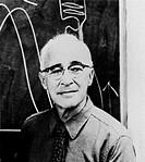 George Wald (1906-1997), American biochemist. Wald studied rhodopsin (visual purple), the light- sensitive pigment in the rod cells of the eye´s retin...