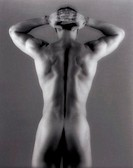 CREDIT: CRISTINA PEDRAZZINI/SCIENCE PHOTO LIBRARY Nude man seen from behind.