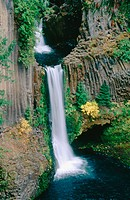 Toketee Falls. Umpqua National Forest. Oregon. USA
