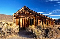 Bodie State Historic Park. California. USA