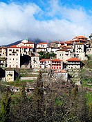 Dimitsana town. Arcadia, Peloponnese. Greece