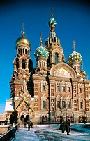 Church of the Bleeding Savior. St. Petersburg. Russia