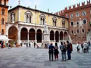 Signori Square. Verona. Italy